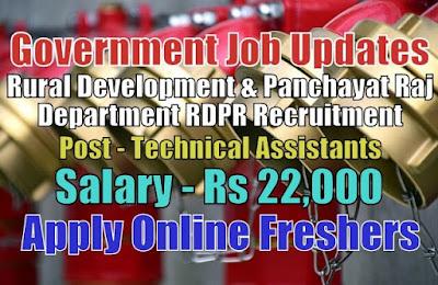 RDPR Recruitment 2020