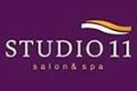 Studio 11 Salon and Spa Franchise Logo