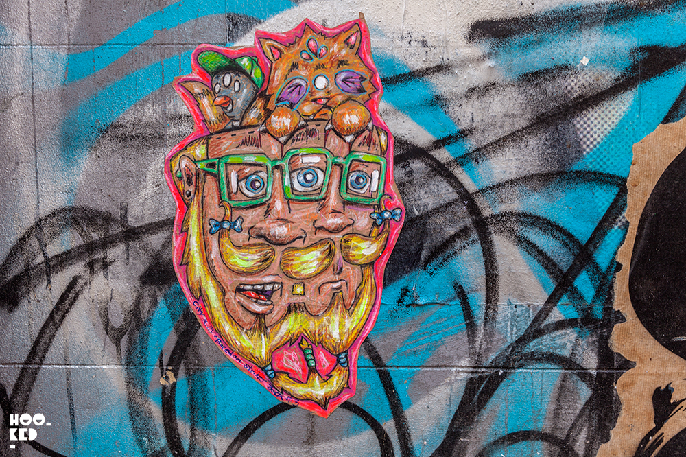 New York street artist City Kitty Hits the Streets of London