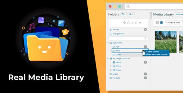 Real Media Library plugin NULL–Advanced WordPress Media Editor