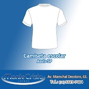 Camiseta escolar - Assis-SP