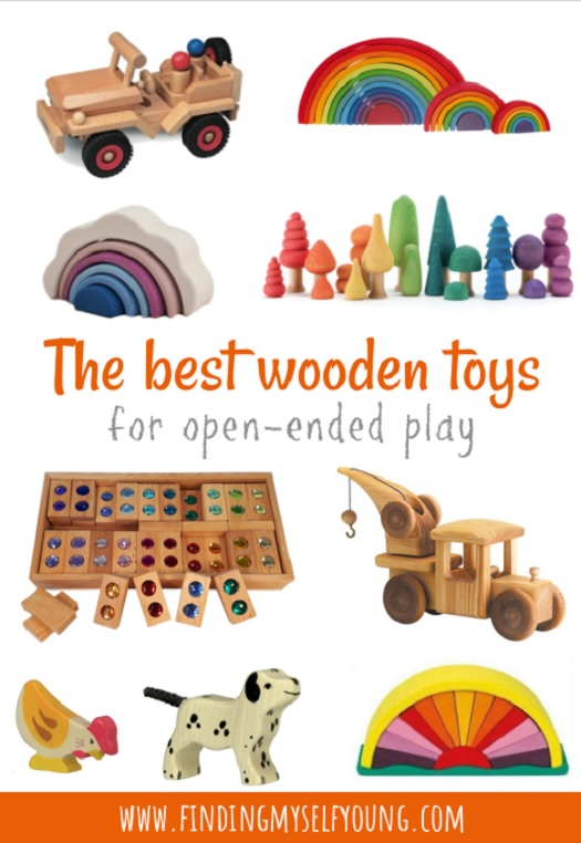 the best wooden toy brands for open ended play