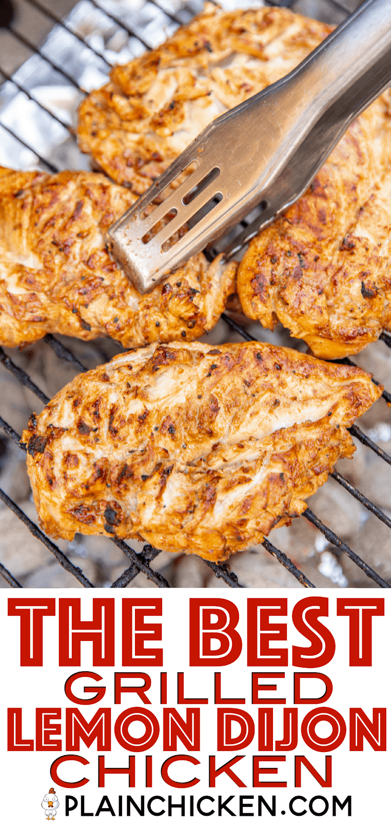 chicken cooking on a grill