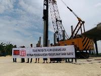 Heboh Tuntut Ganti Rugi, Warga Gresik Protes Pembangunan Tol KLB