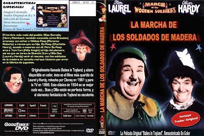 Carátula dvd: La marcha de los soldados de madera