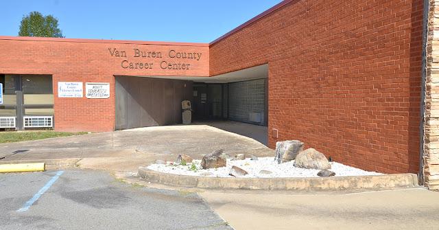 exterior photo of the Van Buren County Career Center building