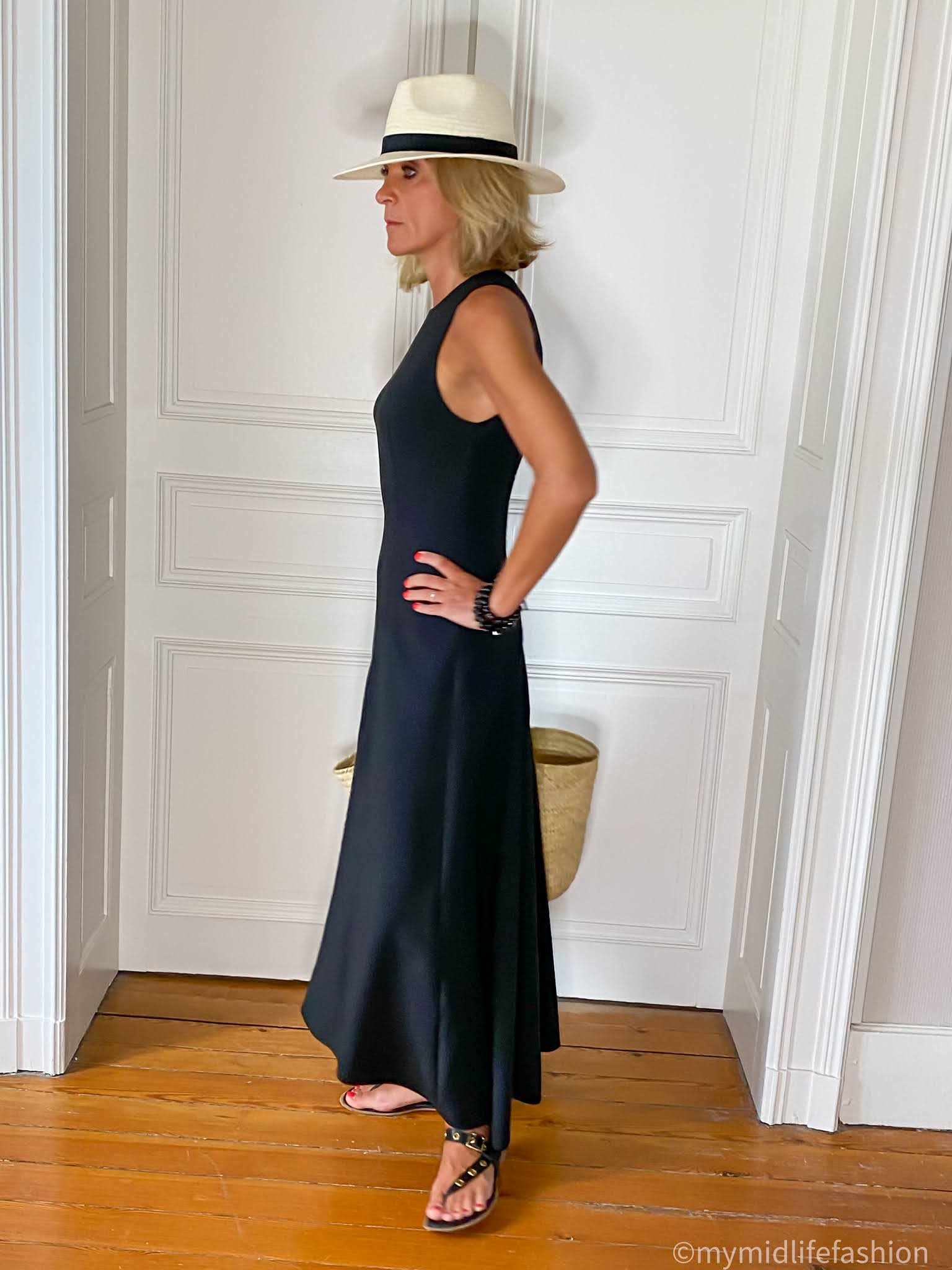 my midlife fashion, 12 Storeez asymmetric hem dress