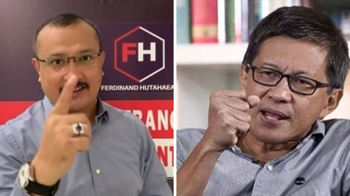 Rocky Gerung Komentari Intelijen di Isu 'Jokowi End Game', Ferdinand Hutahaean: Tidak Bisa Modal Danga-dungu