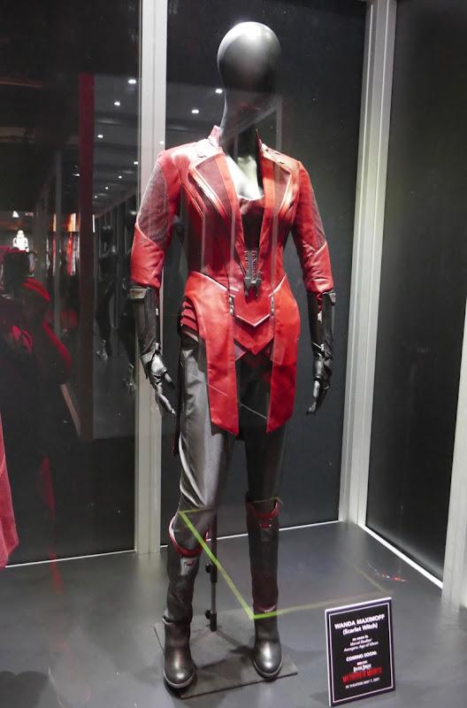 Elizabeth Olsen Avengers Age of Ultron Scarlet Witch costume