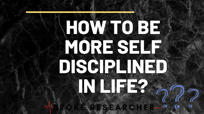 How To Become Self Disciplined