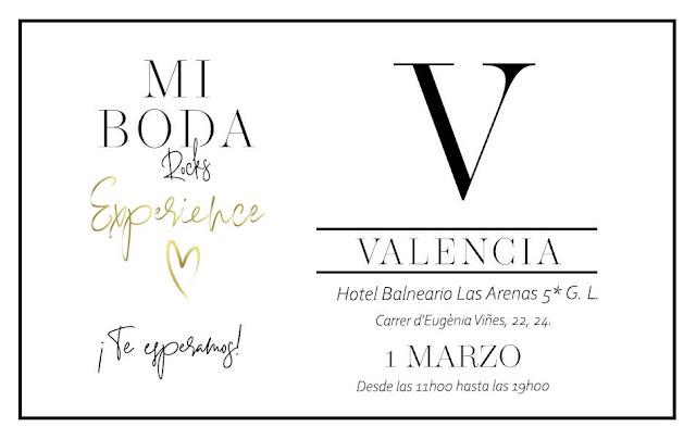 mi boda rocks experience valencia marzo 2020 showroom nupcial
