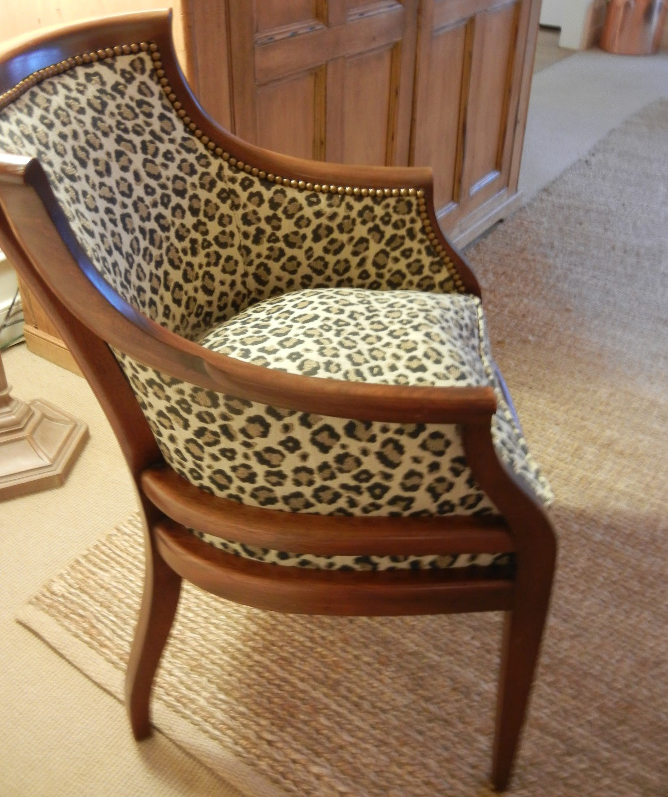Cheetah Chair A Curious Gardener The Leopard Nana Chair