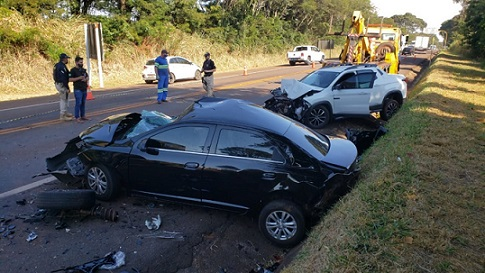 Motorista que provocou acidente fatal perto de pedágio é detido