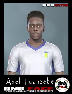 PES 2019 Faces Axel Tuanzebe by DNB