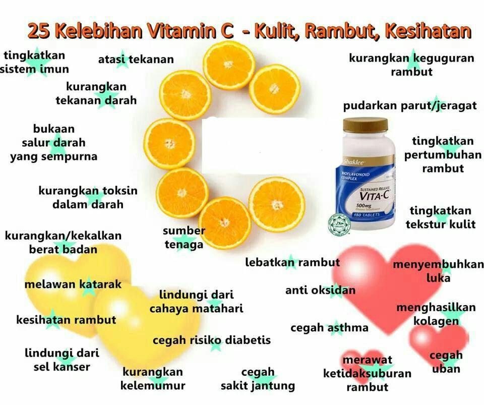22 Manfaat vitamin C Untuk Kulit, Antibiotik, dan Sumbernya