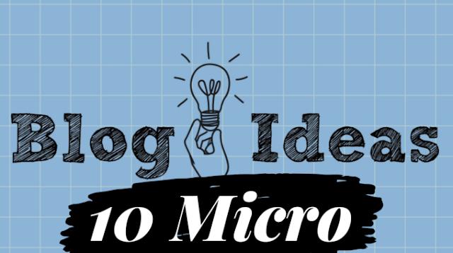 10 Mircoblogging Topics that will generate huge money