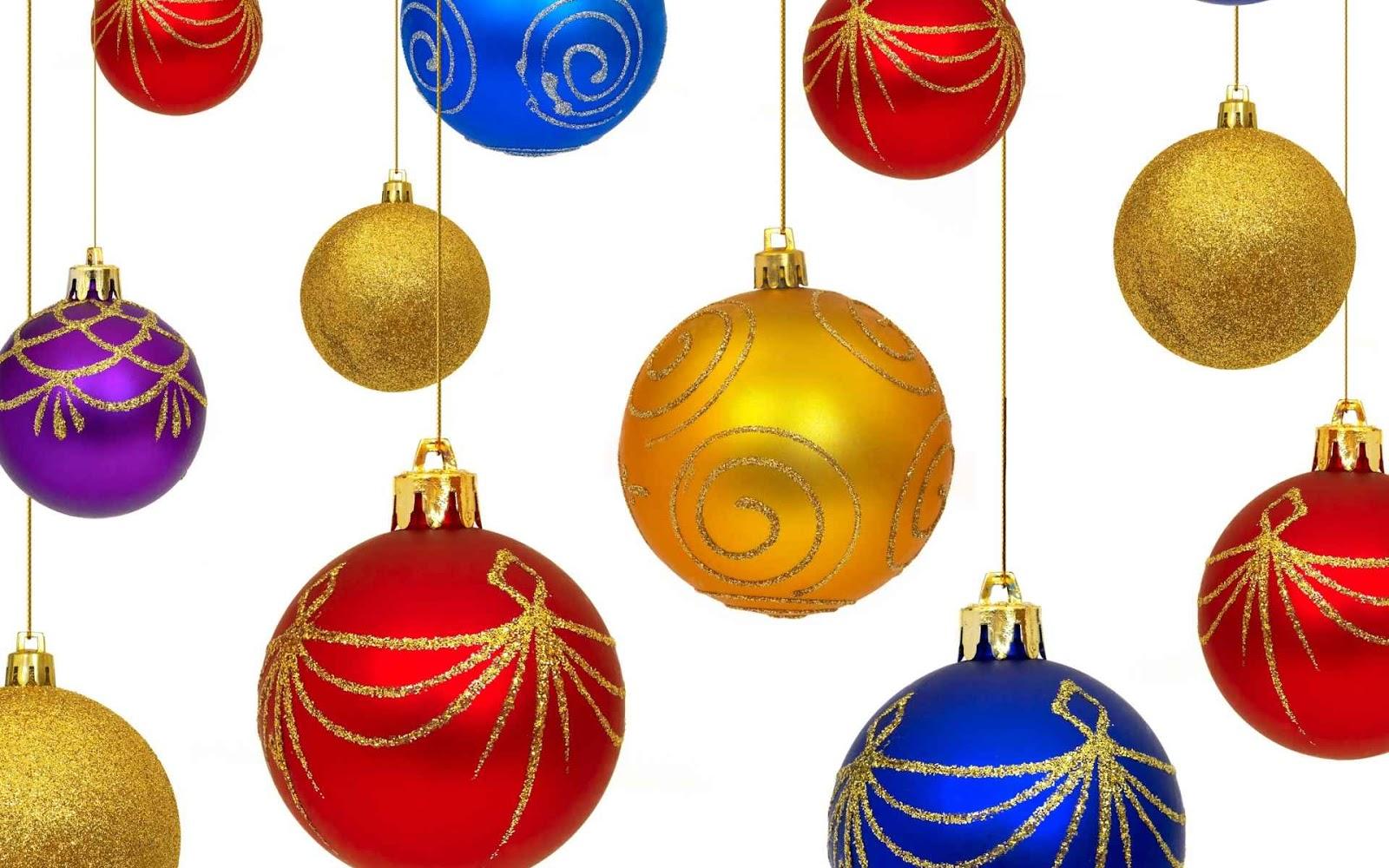 Aqui Hay Imagenes Bonitas De Navidad Para Fondo De: Fondo De Pantalla Con Las Bolas De Navidad 2012