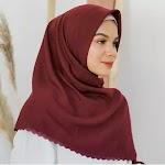 Voal WATERSPLASH Laser Cut Hijab 115x115cm / Kerudung / Jilbab Segi