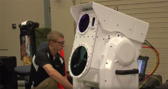 Senjata Laser Baru Ini, Bisa Lelehkan Targetnya Dalam Hitungan Detik Saja