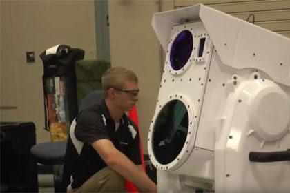 Senjata Laser Baru Ini, Bisa Lelehkan Targetnya Dalam Hitungan Detik Saja !!!