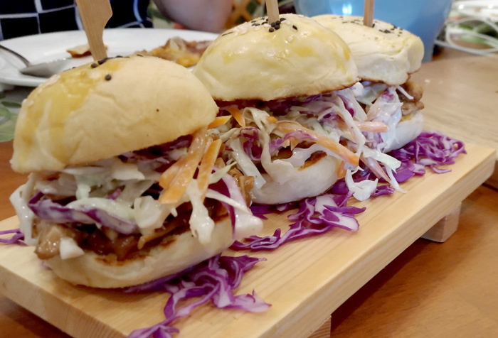 Pulled Pork Humba Sliders