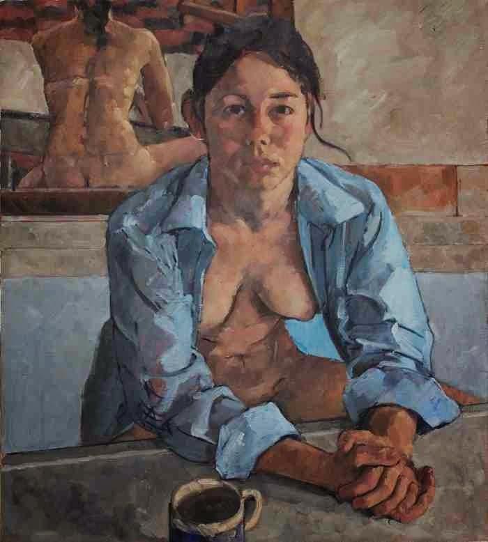 Американский художник. Frederick Ortner