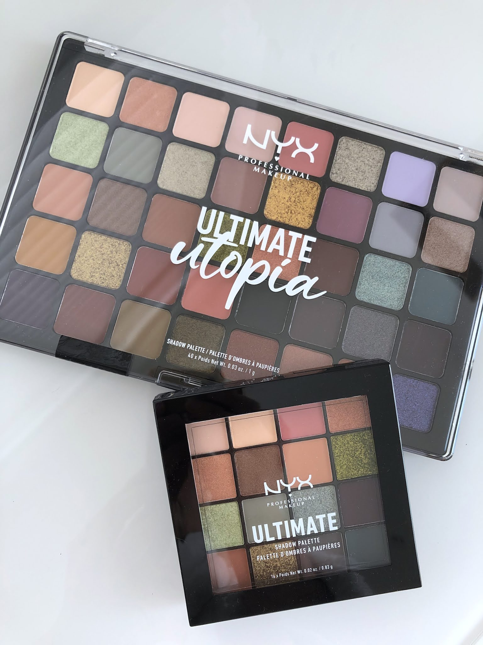 NYX Ultimate Shadow Palette: A quick review