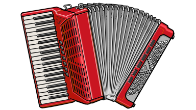 アコーディオン accordion