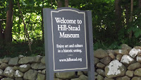 The Welcome sign, Hill-Stead Museum - Farmington, CT