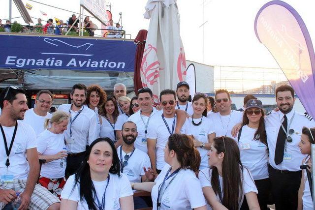 Η Egnatia Aviation γιόρτασε τα 10 χρόνια λειτουργίας της
