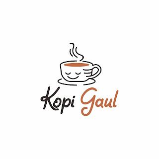 Desain Logo Kopi Gaul