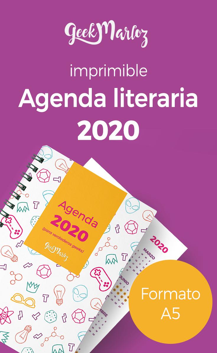 Agenda o Planificador literario 2020 (Contenido descargable GRATIS)