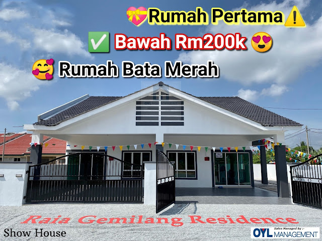 Iklan Rumah murah bawah harga RM200K di Raia Gemilang Residence
