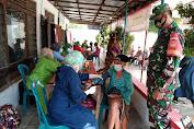 Babinsa Karangdowo Dampingi Vaksinasi Covid 19 Lansia Tahap 1