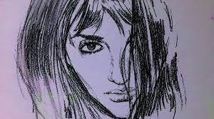 penelope cruz vanilla sky drawing