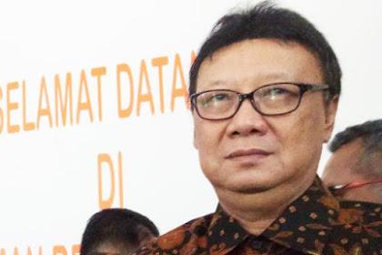 Mendagri: Saya Bela Komandan Saya Jokowi, Saya tidak Bela Ahok