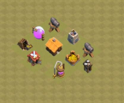 Base COC TH1 War