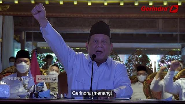 Prabowo: Saya Harus Banyak Tahan Diri demi Kepentingan yang Lebih Besar