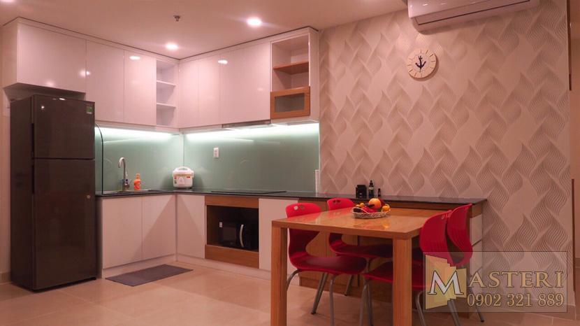 Cho thuê căn hộ Masteri Thảo Điền Quân 2 - view bếp