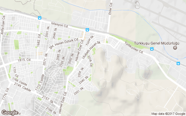 istasyon mahallesi harita