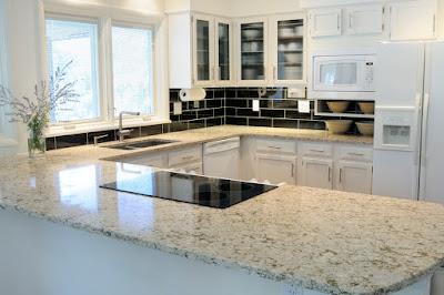 Bahan Material Yang Tepat Untuk Counter Top Kitchen Set