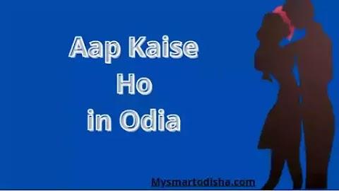 Aap Kaise Ho in Oriya Language, Oriya translation aap kaise ho