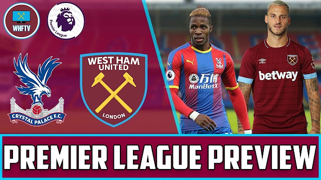 Prediksi Crystal Palace Vs West Ham United 27 Januari 2021
