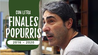 Final de los Popurris con LETRA de las Comparsas de Antonio Martinez Ares (2016-2020)