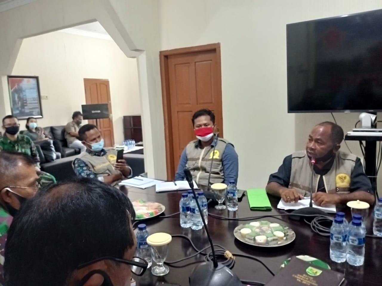 Tim Komnas HAM Perwakilan Papua Kunjungi Posko Kogabwilhan III