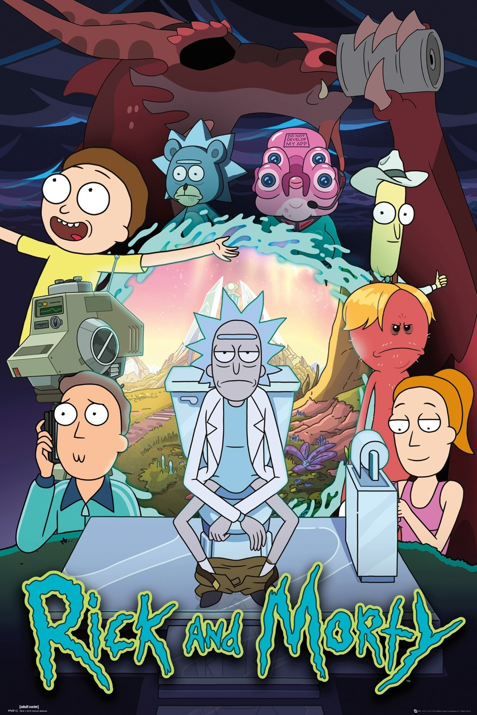 Rick y Morty |10/10| |Audio Latino| |Temporada 4| |HD Ligero 720p| |MF|