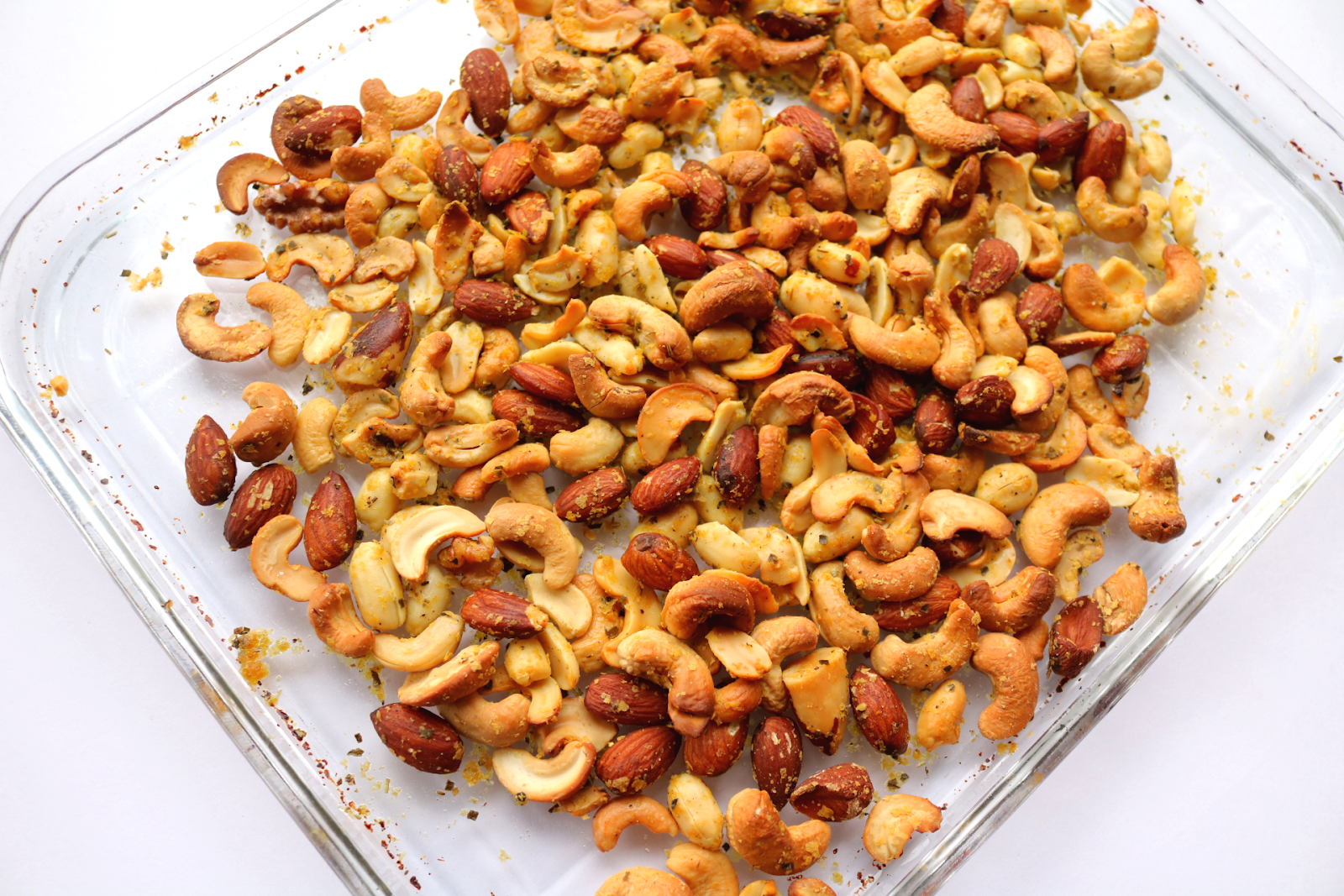 Easy Cheesy Herby Nuts (Vegan / Dairy-Free recipe) #Veganuary