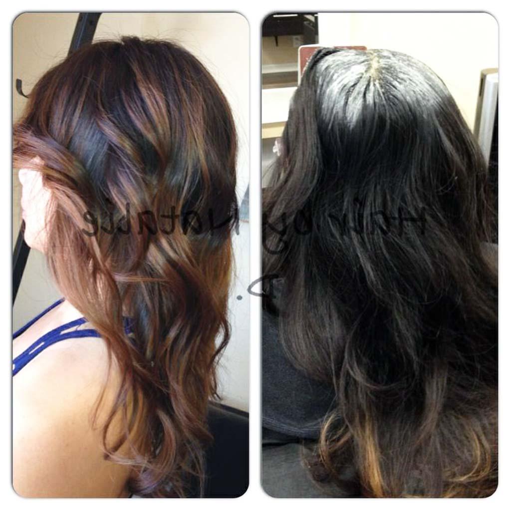 15 New Balayage Dark Hair Before After - Ellecrafts