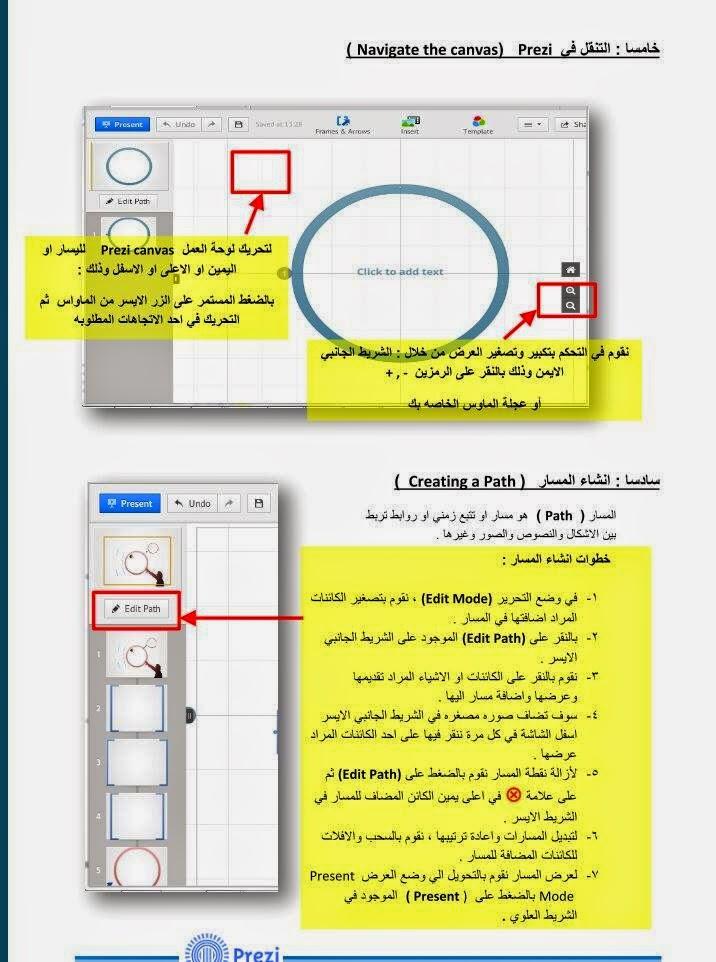 تحميل برنامج بريزي prezi مجانا 2015 عربي