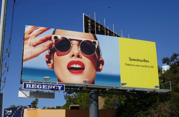 Spectacles Capture your world in 3D billboard